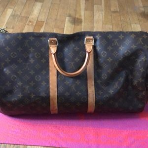 Authentic Louis Vuitton Duffel Bag
